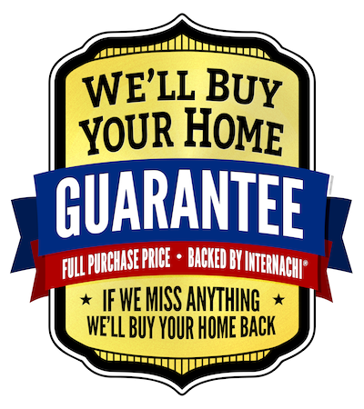 InterNACHI Buy Back Guarantee Logo: We'll Buy Your Home Guarantee